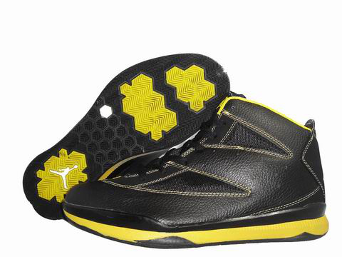 Cheap Air Jordan Shoes CP3 Black Yellow