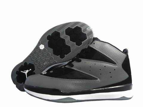 Cheap Air Jordan Shoes CP3 Grey Black