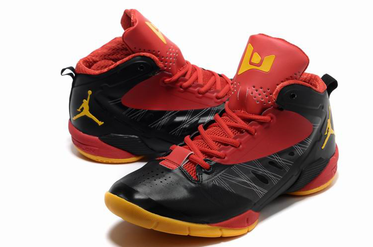 Wade 2 Champion PE Shoes Black Red Yellow