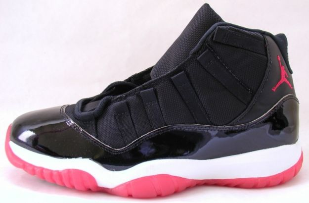 Cheap Air Jordan Shoes 11 Original Black True Red White