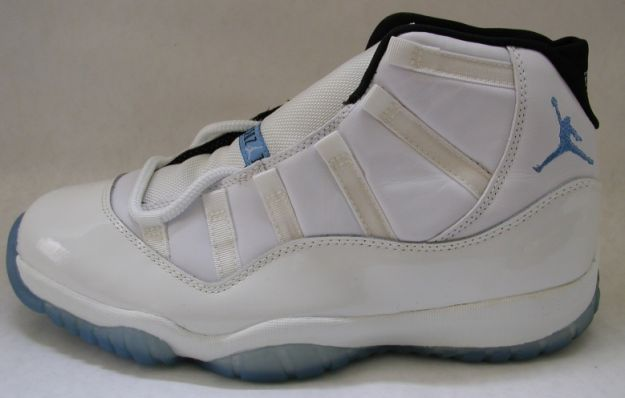 Cheap Air Jordan Shoes 11 Original Columbia White Blue Black