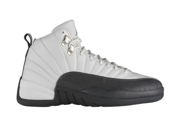 Cheap Air Jordan Shoes 12 Retro White Flint Grey Metallic Silver