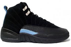 Cheap Air Jordan Shoes 12 White University Blue Black