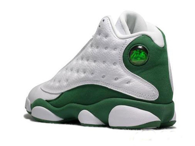 Cheap Air Jordan Shoes Retro 13 White Green With Brand New Condition ...
