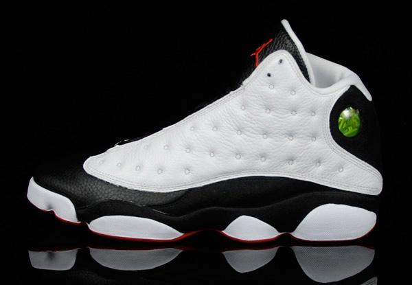 Cheap Air Jordan Shoes 13 Retro Countdown Package White Black True Red