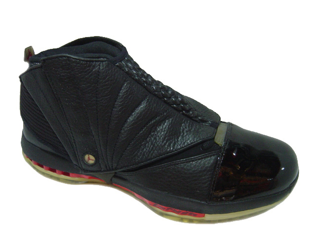 Cheap Air Jordan Shoes 16 Black Varsity Red
