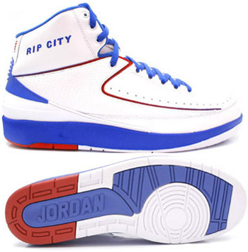 Cheap Air Jordan 2 Shoes White Blue White Chrome