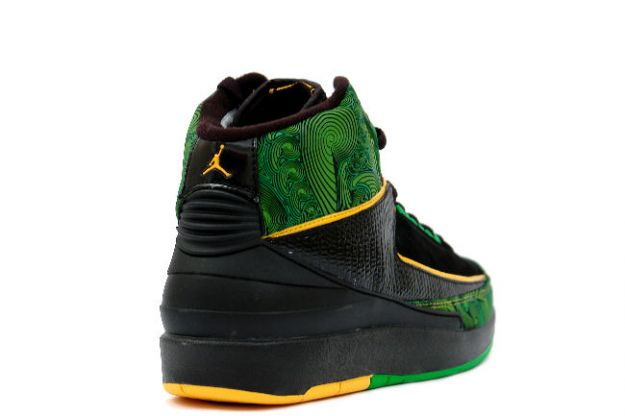 Cheap Air Jordan 2 Shoes Retro Doernbecher Charity Black Pro Gold