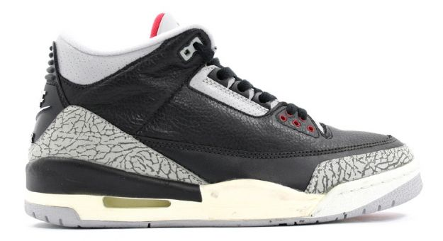Cheap Air Jordan Shoes Retro 3 Black Cement Grey Countdown Pack