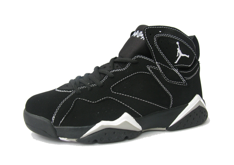 Cheap Air Jordan Shoes Retro 7 Black White