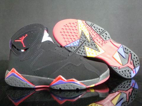 Cheap Air Jordan Shoes Retro 7 Dark Red Blue