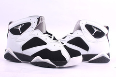 Cheap Air Jordan Shoes Retro 7 White Black