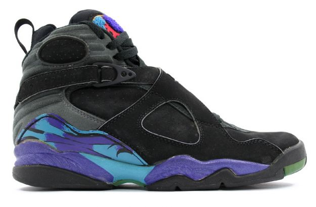 Cheap Air Jordan Shoes 8 Original Aquas Black Bright Concord Aqua Tone