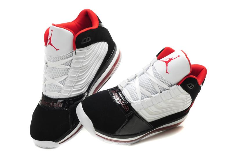 quality design 41686 09703 Cheap Air Jordan Shoes Big Ups Black White Red