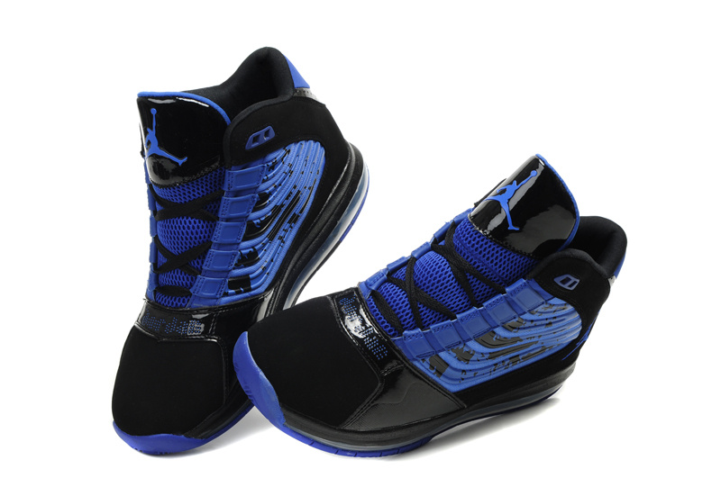 Cheap Air Jordan Shoes Big Ups Blue Black