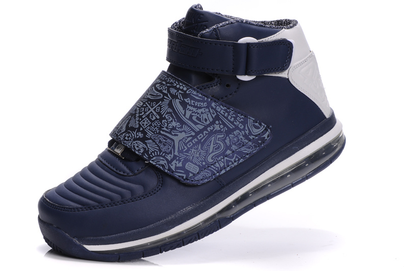Cheap Air Cushion Jordan 20 Blue White Shoes