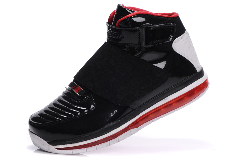 Cheap Air Cushion Jordan 20 Dark Black White Shoes