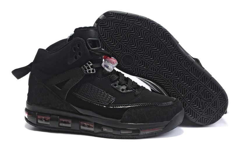 Cheap Air Cushion Jordan 3.5 All Black Shoes