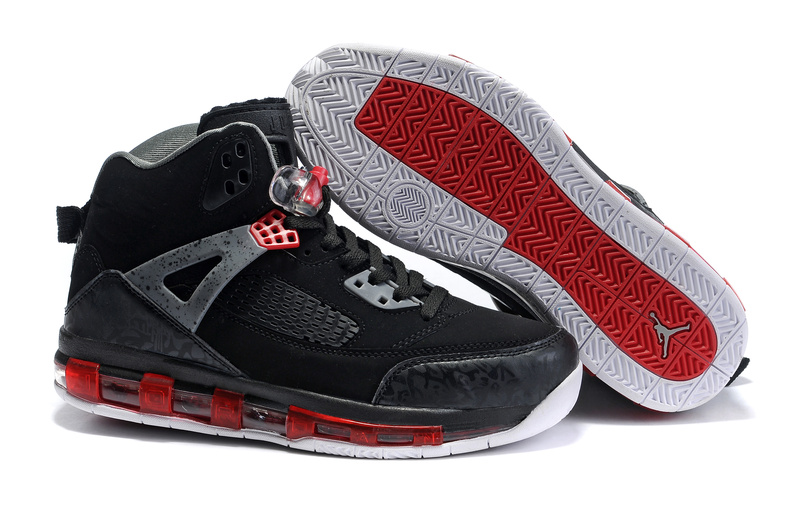 Cheap Air Cushion Jordan 3.5 Black Grey Red White Shoes