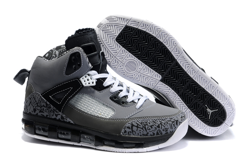 Cheap Air Cushion Jordan 3.5 Grey Black White Shoes