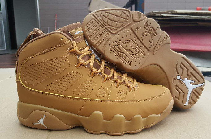 air jordan 9 all gold