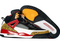 Cheap Air Jordan Spizike Black Varsity Maize Varsity Red Shoes