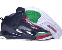 Cheap Air Jordan Spizike Black Varsity Red Classic Green Shoes