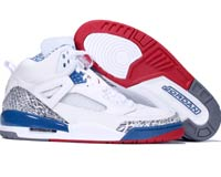 Cheap Air Jordan Spizike White Varsity Red True Blue Shoes
