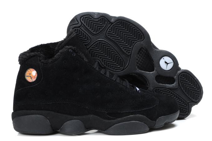 Cheap Air Jordan Shoes 13 Warm Black