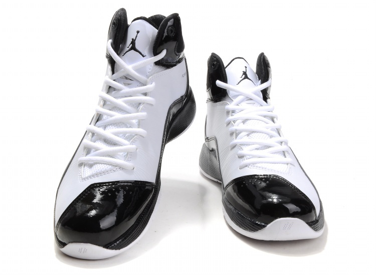 Cheap Air Jordan Shoes 26 White Black