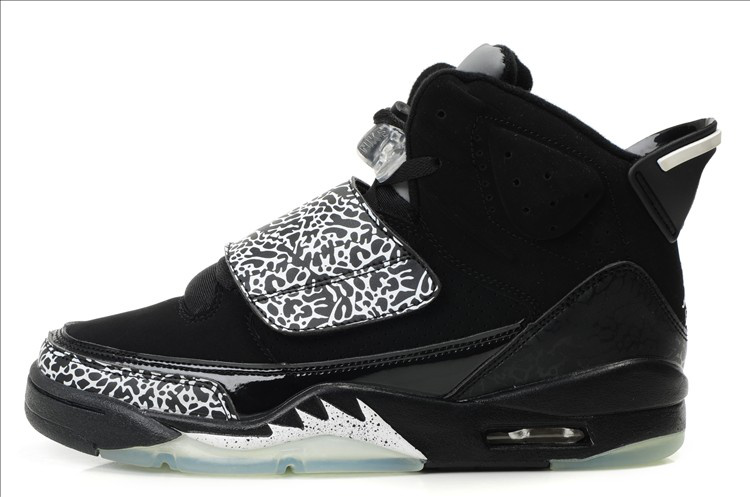 Cheap Air Jordan Son Of Max Black Silver