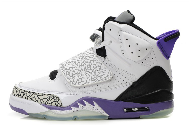 Cheap Air Jordan Son Of Max White Black Purple